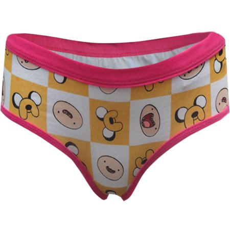 Adventure Time Jake And Finn Checkered Boy Brief Panty (Adventure Time Panties)