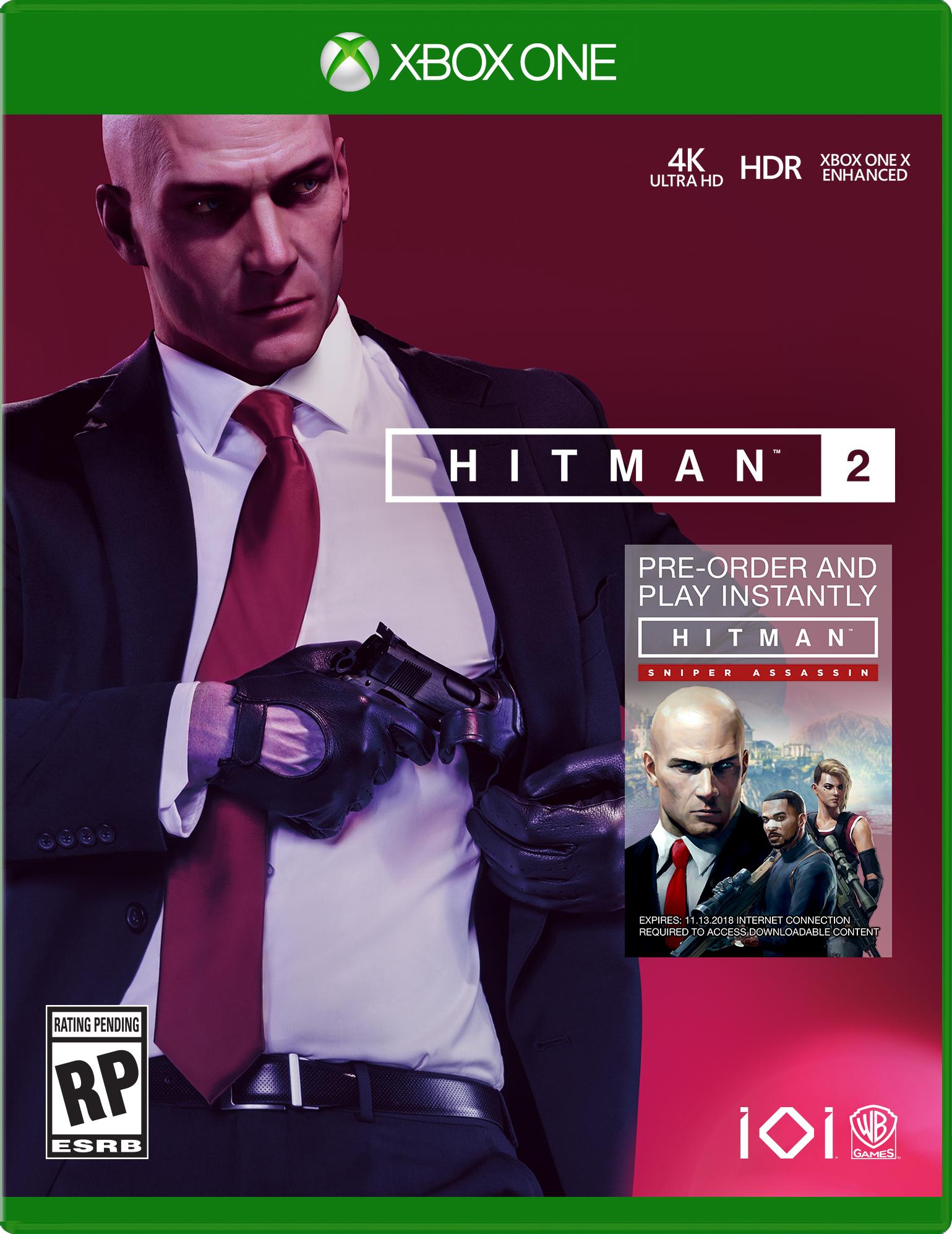 Hitman 2, Warner, Xbox One, 883929639564