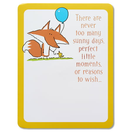 American Greetings Fox Happy Birthday Card With Music Walmart