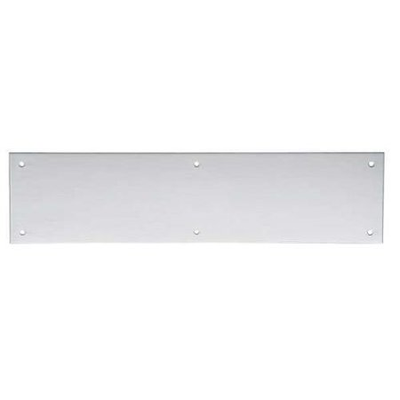 Door Push Plate (IVES 8200S 32D 4X16 Door Push Plate, 4In W x 16In L)