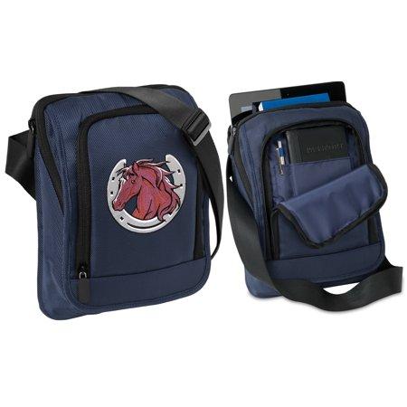 Horse Tablet Bag Case With Shoulder Strap