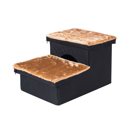 Pet Dog Steps Easy Bed Ramp Sofa Ladder Puppy Cat Stairs Kitty Condo House ()