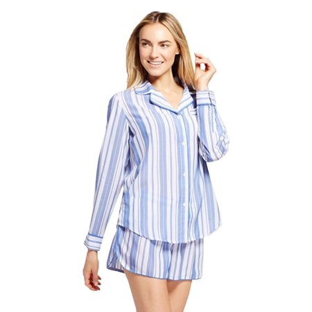 Gilligan & O'Malley Women's Tencel Short Pants Pajama Set