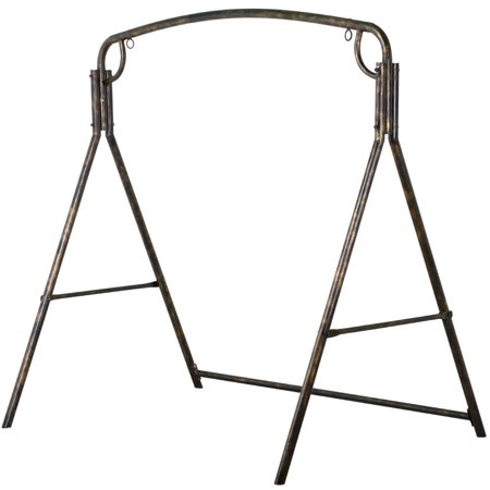 Iron Patio Swing Frame Outdoor Swing Stand