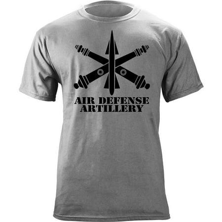 Army Air Defense Artillery ADA Branch Insignia Veteran T-Shirt Army Shoulder Sleeve Insignia