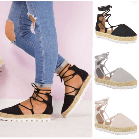 2019 Women Casual Shoes Summer Beach Espadrille -