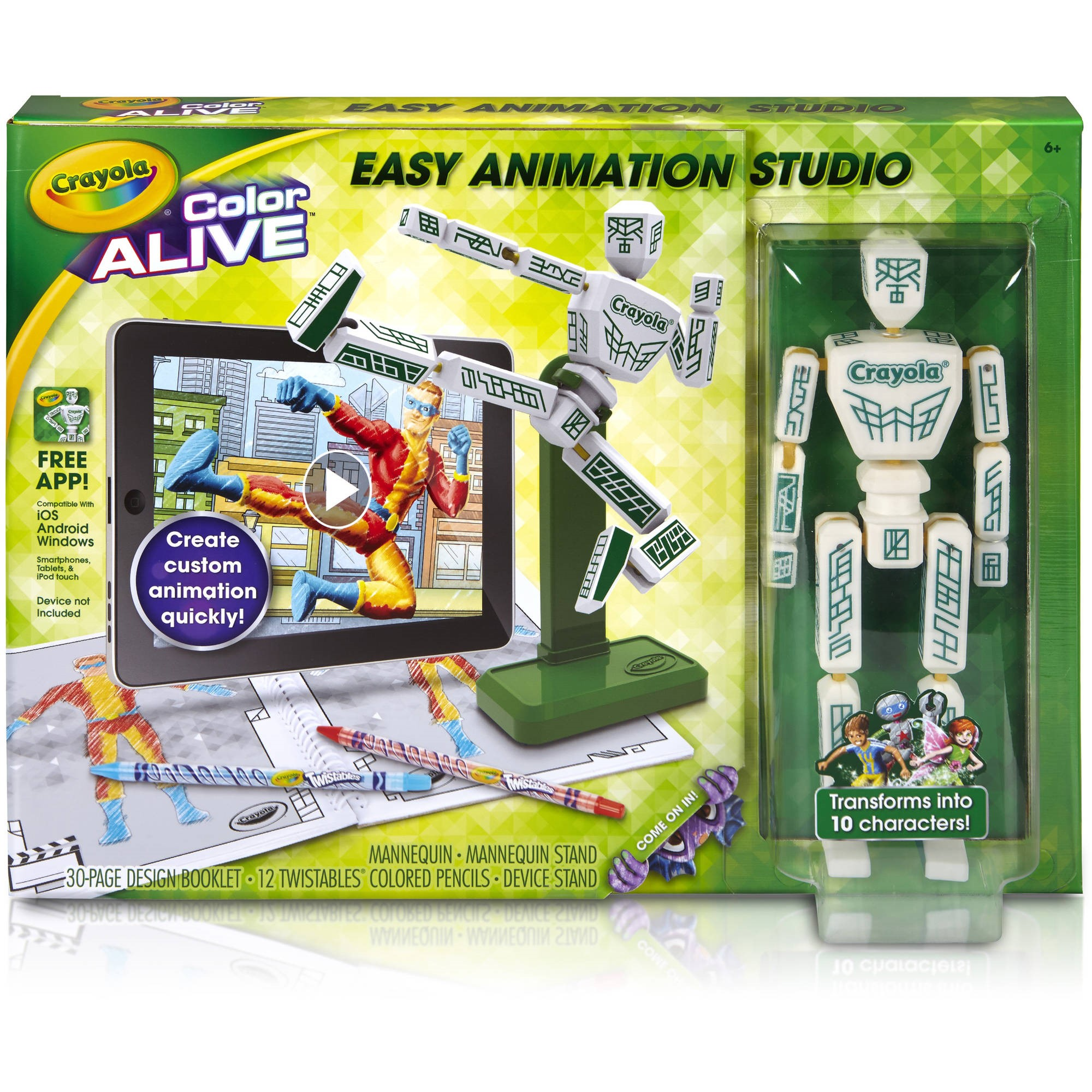 Crayola Easy Animation Studio Kit by Binney And Smith Inc