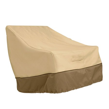 Ustyle Patio Chair Cover Lounge Deep Seat Cover Waterproof Outdoor Lawn Furniture Cover - Coffee + Khaki - image 1 of 9