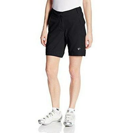 pearl izumi women's w canyon shorts, black/black,