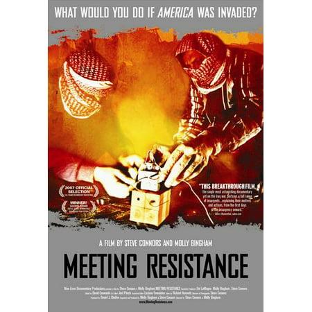 Meeting Resistance POSTER Movie (27x40)](Halloween Meetings)