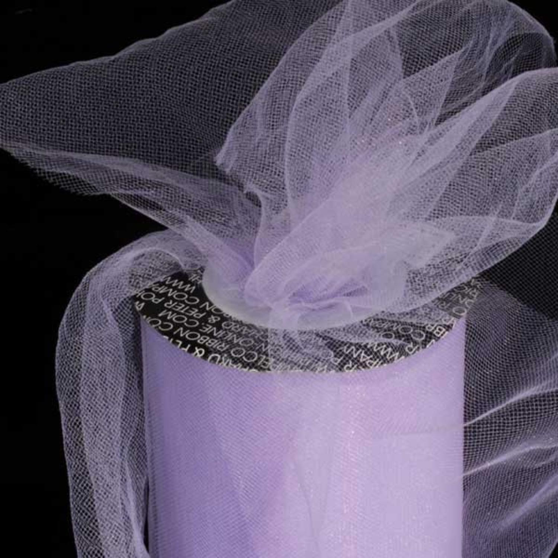 "Designer Lavender Tulle Craft Ribbon 3"" x 550 Yards"