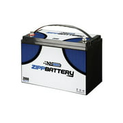 Best Marine Deep Cycle Batteries - 12 volt 110ah deep cycle replacement marine boat Review