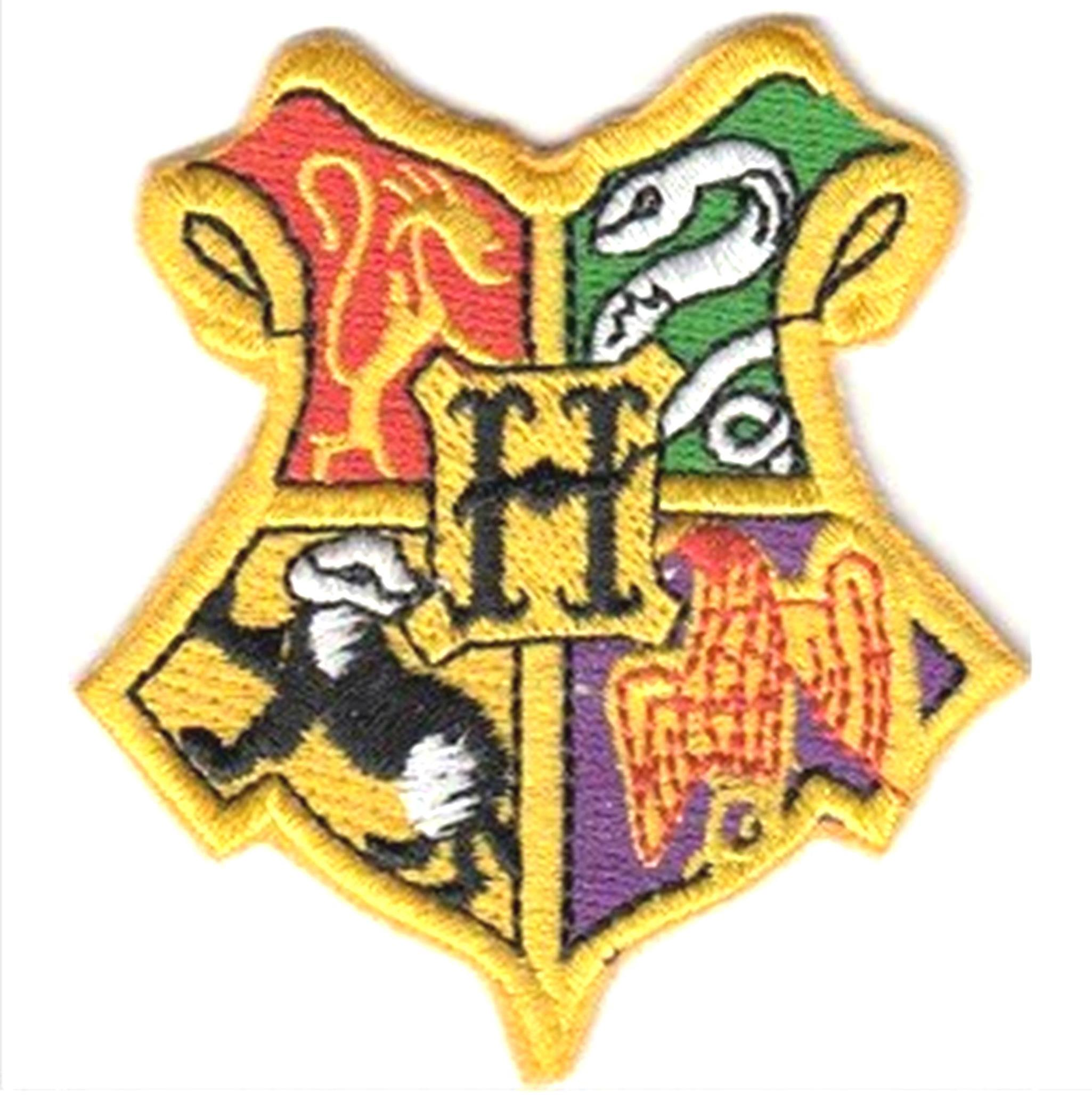 "Superheroes Harry Potter Gryffindor House Crest Hogwart 2.5"" Tall X 2.3"" Wide Embroidered Iron/Sew-on Applique Patch"