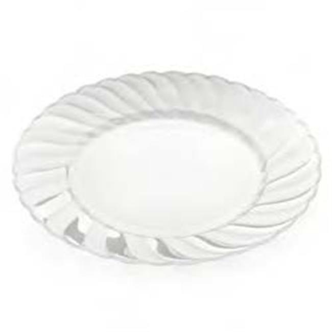 elegant clear disposable hard plastic plates clear case of