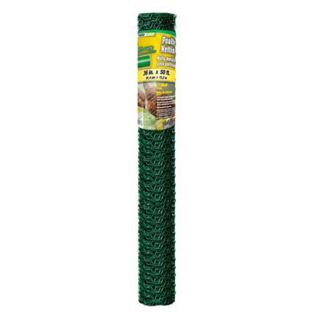 Midwest Air Tech/Import 308456B 36-In. x 50-Ft. PVC Poultry Netting