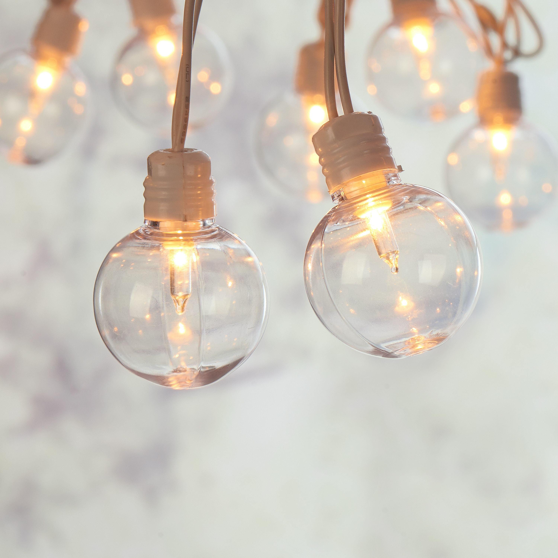 Indoor Outdoor Clear String Lights