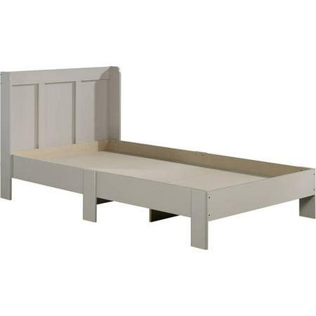 sauder parklane twin platform bed and headboard multiple finishes walmartcom - Twin Platform Bed Frame
