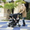 Joovy Caboose Too Ultralight Sit and Stand Tandem Stroller, Black