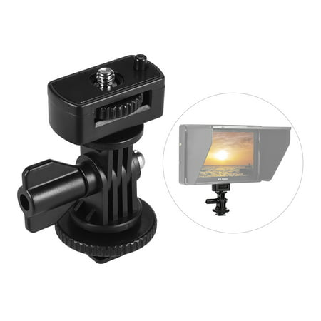 Adjustable Cold Hot Shoe Mount Adapter with 1/4