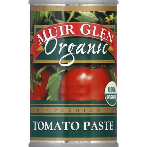 Muir Glen Organic Tomato Paste, 6 oz (Pack of 12)