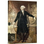 Global Gallery 'George Washington' by Jose Perovani Painting Print on Wrapped Canvas