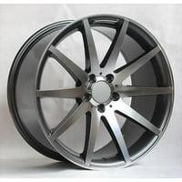 19'' wheels for Mercedes E300 E350 E400 E550 SEDAN (Staggered 19x8.5/9.5)
