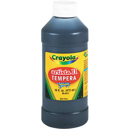 Crayola Artista II Washable Tempera Paint, 16 oz, Available in Multiple Colors