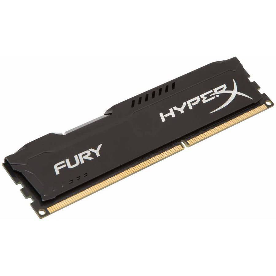 Kingston 4GB 1866MHz DDR3 Non-ECC CL10 DIMM HyperX FURY Black Series Memory Module