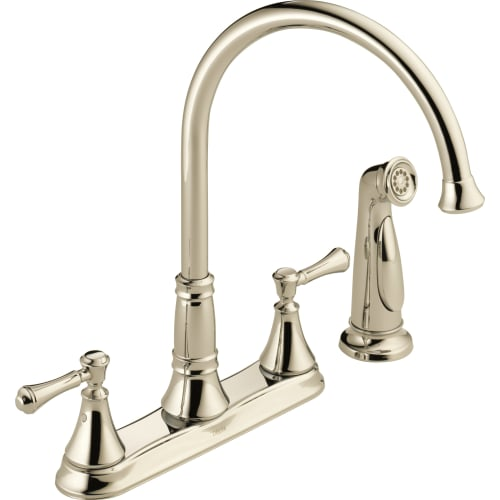 Delta Cassidy Kitchen Faucet with Side Spray, Available in Various Colors by Delta