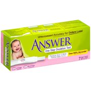 Answer 7 Day Test Kit One Step Ovulation Test 7 ct Box