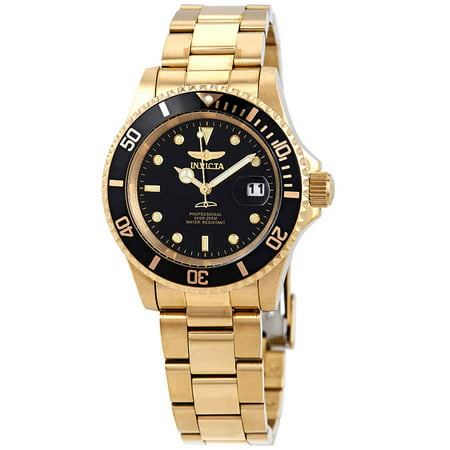 Invicta Men's Pro Diver 26975 Gold Stainless-Steel Japanese Quartz Fashion Watch