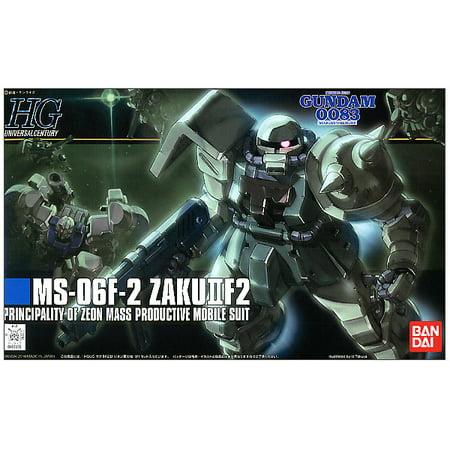 Bandai Hobby Gundam Stardust Memory MS-06F-2 Zaku II F2 Zeon HG 1/144 Model Kit