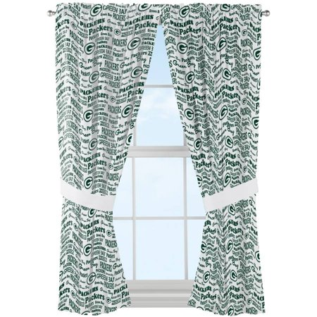 NFL Green Bay Packers Anthem Curtain Panels Set