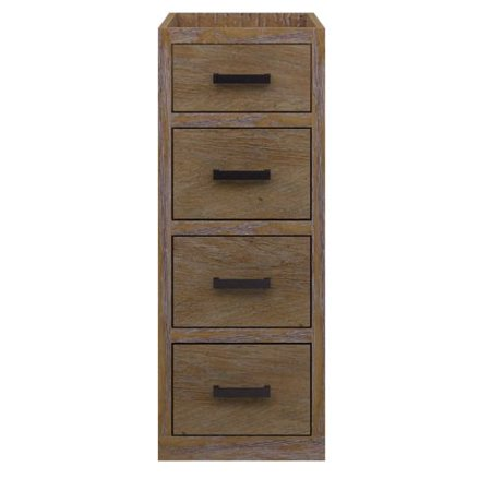 Sagehill Toby Vanity Side Cabinet Four Drawers Product Photo