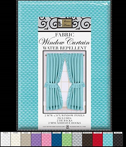 Fabric Sink Skirt Mosaic Stitch Turquoise New