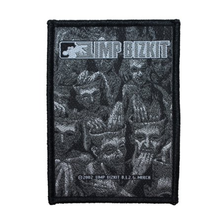 Limp Bizkit New Old Songs Cover Art Patch Hip Hop Remix Woven Sew On Applique](Halloween Theme Song Remix)