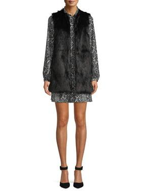 Scoop Faux Fur Vest Women's