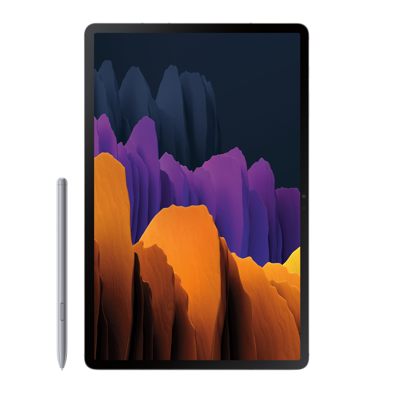 SAMSUNG Galaxy Tab S7 Plus 128GB Mystic Silver (Wi-Fi) S Pen Included - SM-T970NZSAXAR