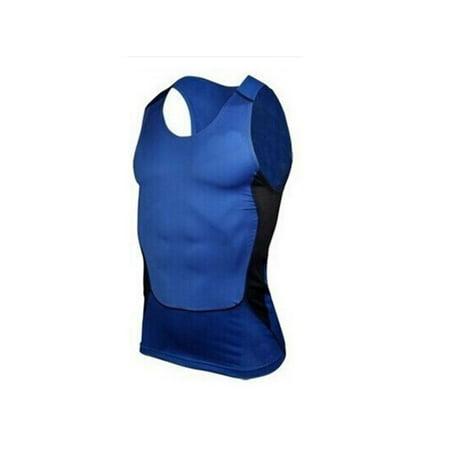 Topumt Men Gym Running Sports Compression Base Layer Tank Tops Vest Under
