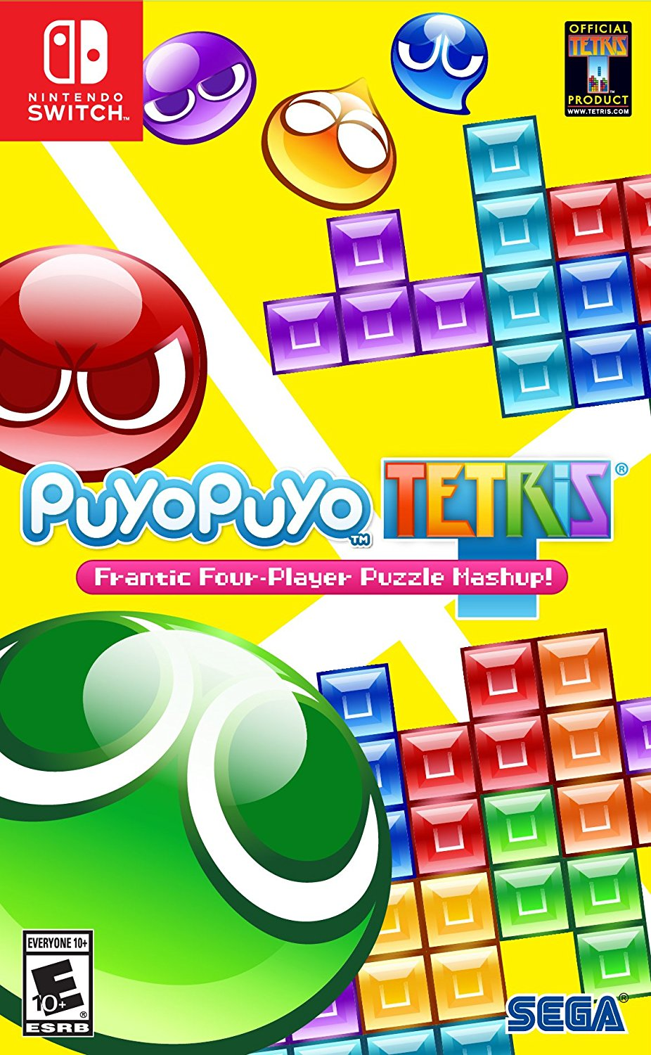 Puyo Puyo Tetris Nintendo Switch, The game also has a single player mode with ten unique acts, each with ten... by