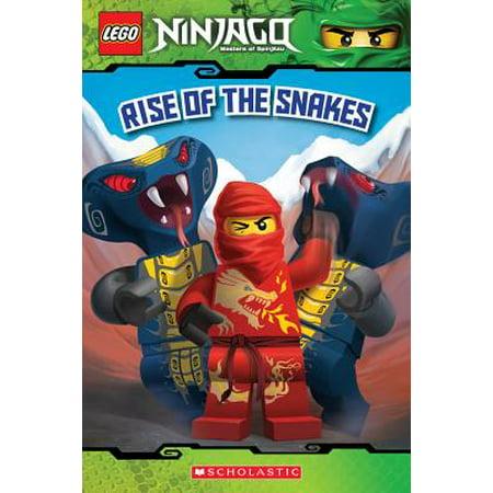 West Snake (Rise of the Snakes (Lego Ninjago: Reader) (Paperback))