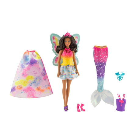 Barbie Dreamtopia Barbie Doll with 3 Fairytale Costumes](Barbie Doll Halloween Costume Adults)