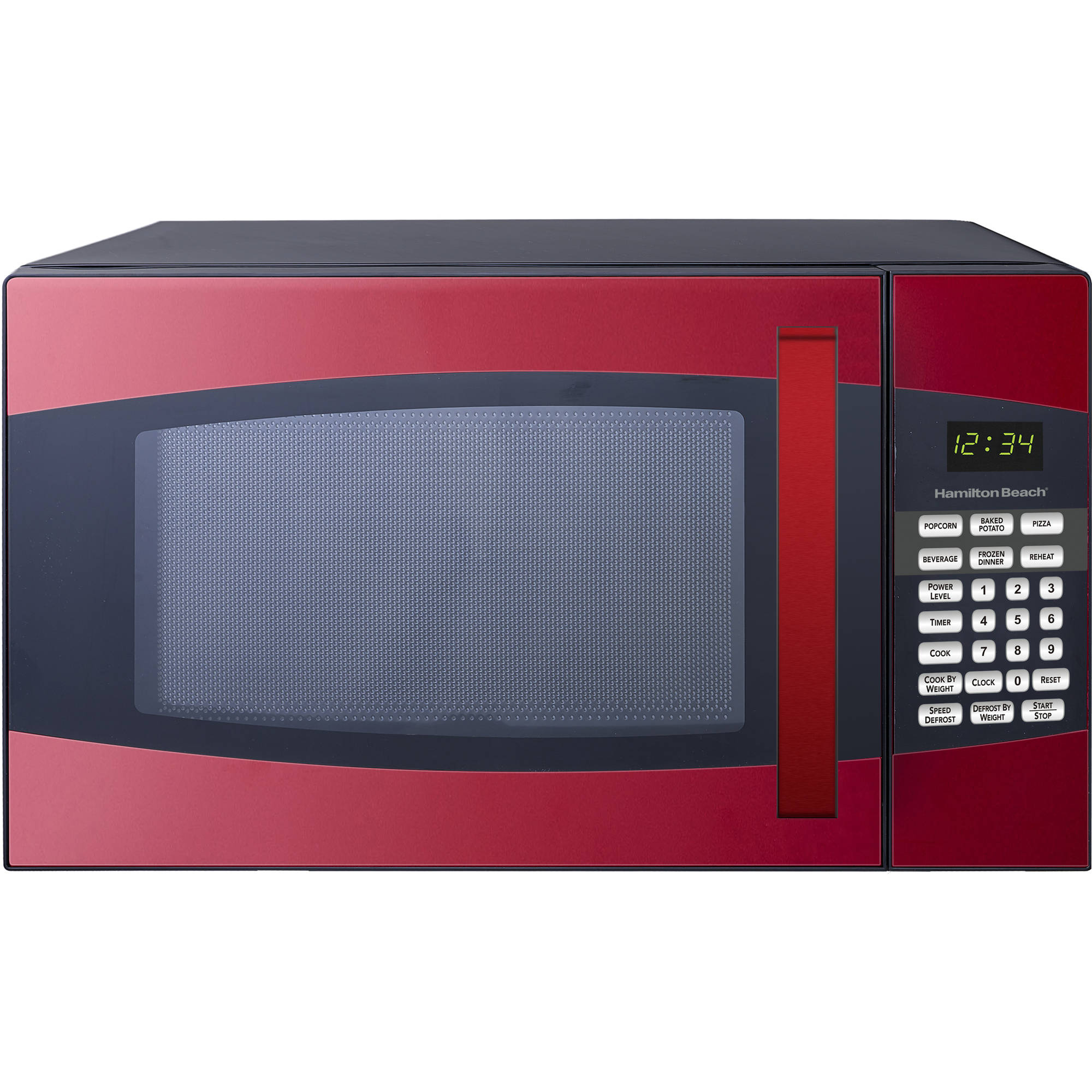 Microwave Oven Black Red