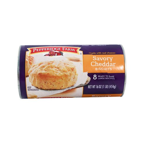 Pepperidge Farm Savory Cheddar Biscuits, 8 count, 16 oz