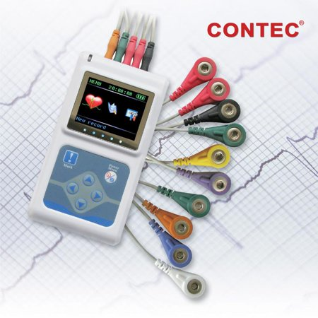 TLC5000 Dynamic ECG Systems 12 leads ECG Holter 24 hours recorder