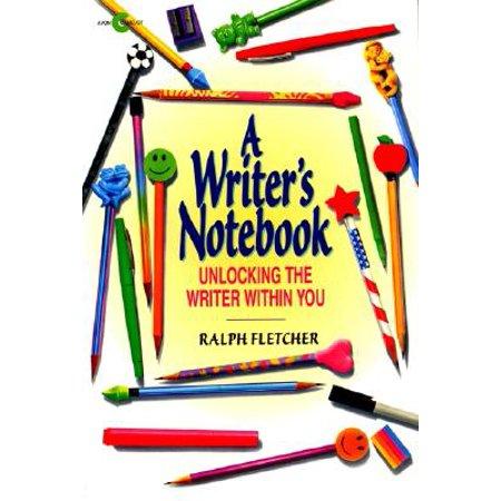 A Writers Notebook Paperback Walmart