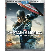Captain America: The Winter Soldier (3D Blu-ray + Blu-ray + Digital HD) (Widescreen)