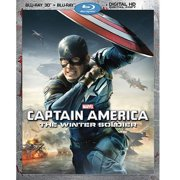 Captain America: The Winter Soldier (3D Blu-ray + Blu-ray + Digital HD) (Widescreen) by