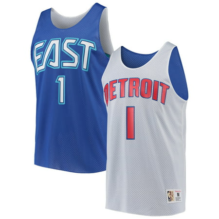 Allen Iverson Detroit Pistons Mitchell & Ness All-Star Game Reversible Mesh Tank Top -
