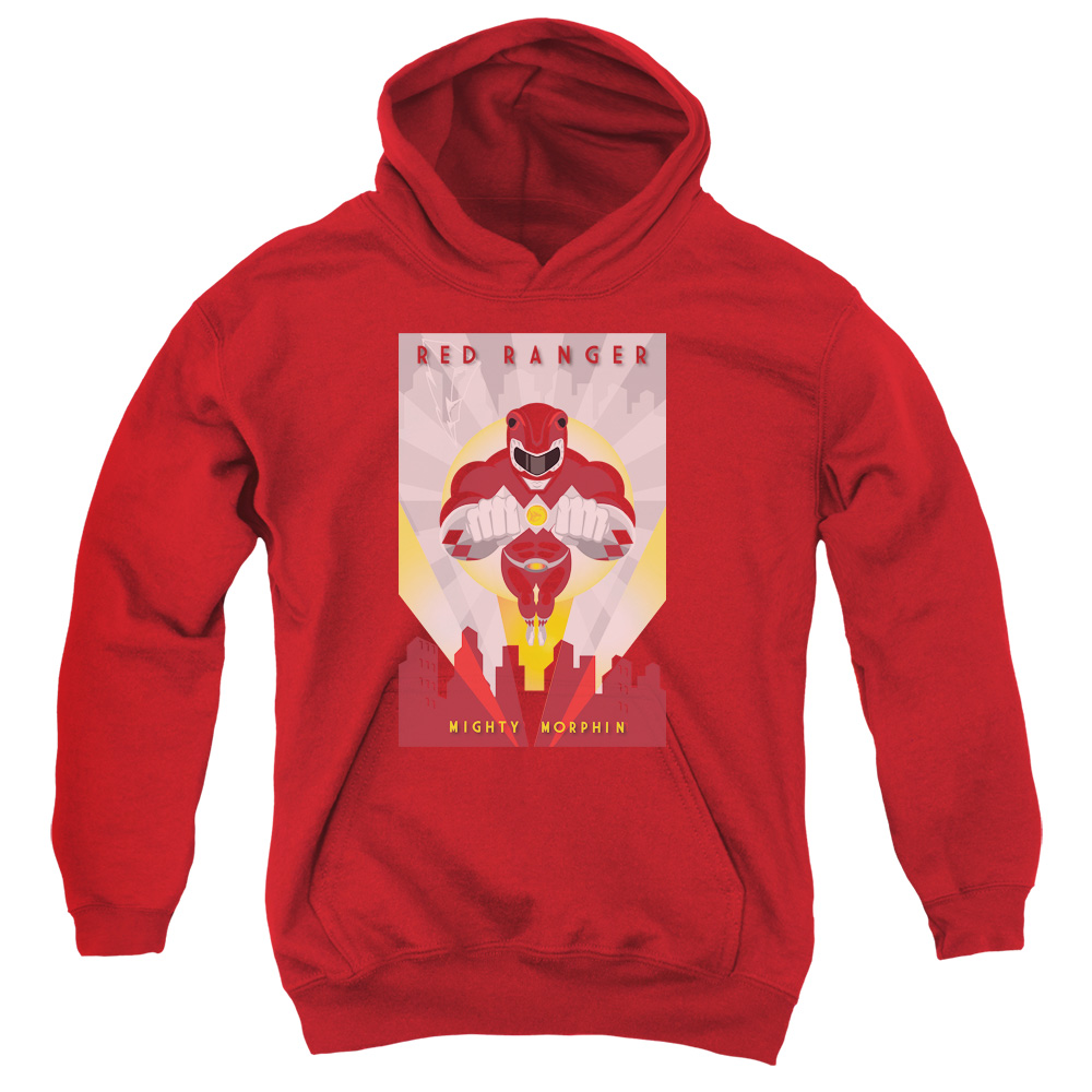 Red Deco Big Boys Pullover Hoodie